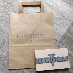 tampon en bois personnalisé avec votre logo